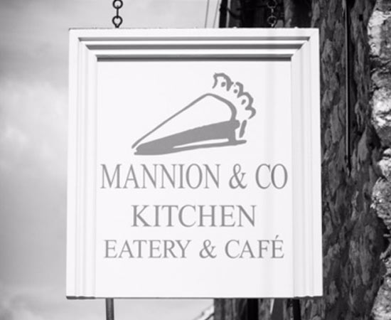 mannion kitchen sign in helmsley