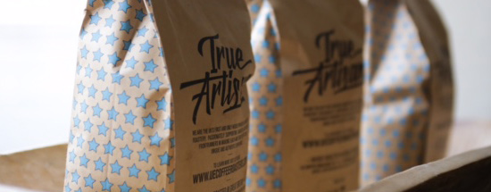 bags of specialist coffee