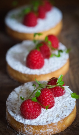 raspberry tarts york